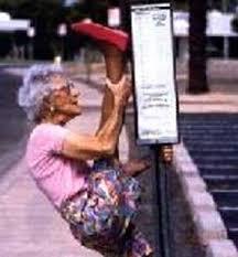 geriatric lady